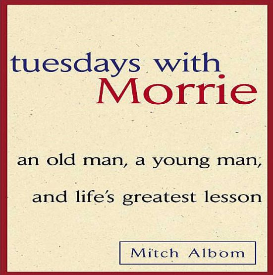 tuesdays with morrie materialism Explain morrie's view of materialism 2 describe the relationship between morrie and his father how does it influence the type of father morrie is today 3 what does morrie mean when he says if you are in bed, you are dead 4 tuesdays with morrie.