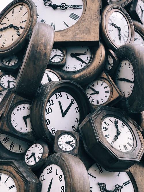 Pandemic Crisis Time Travel clock